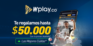 Wplay.co apuestas bono debut online