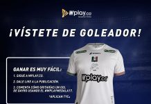 Camiseta Dayro Moreno Sorteo Wplay.co